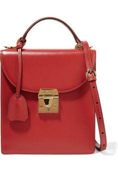 bc2fda6321a Thiara embellished printed leather shoulder bag