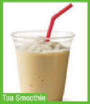 Tea Smoothie #teasmoothie Tea Smoothies, Glass Of Milk, Pudding, Drinks, Desserts, Food, Beverages, Deserts, Custard Pudding