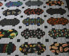 DIY Quilting Inspiration -  A Skateboard Quilt!  (Pattern is from the May/June 2012 Quiltmaker publication.)