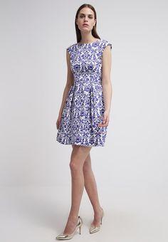 f2174706ca9b8 Closet Sukienka letnia - blue/white za 215,1 zł (21.01.16) zamów bezpłatnie  na Zalando.pl.