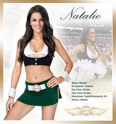 Natalie New York Jets, Jets Football, Football Stuff, Jets Cheerleaders, Cute Cheer Pictures, College Cheerleading, Ripped Girls, Ice Girls, Football Conference