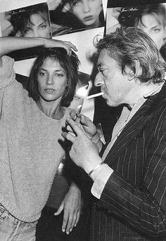 Picture of Jane Birkin & Serge Gainsbourg