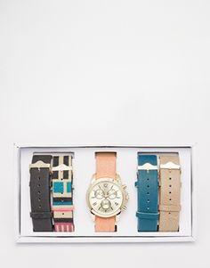 #ALDO Uluwien Leather Multi Strap #Watch