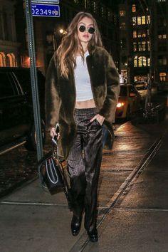 Gigi Hadid Night Out In New York