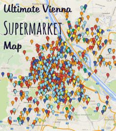 Attention, Vienna! We've created the ultimate supermarket map pinpointing all branches of the following chains: Billa, Spar, Merkur, Hofer, Lidl and Zielpunkt. So whether you are looking for a particular chain or just the closest shop, you'll find it here. Bookmark it! Share it! Lidl, Vienna, Branches, Chains, Shops, Map, Tents, Location Map, Chain