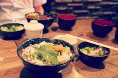 ネギトロ丼for lunch in Tsukiji by yuu@photography, via Flickr  #japan #tokyo #photography #scenery #lunch