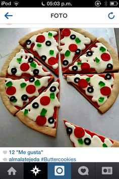 Pizza cookie baby!!!