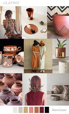 CLAY POT by PatternCurator SS19