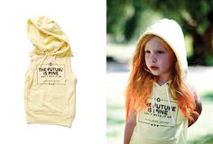 For both girls & boys ~ packs a powerful message punch on the sunniest of yellow