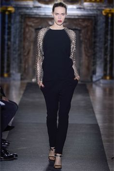 Sfilata Anthony Vaccarello Paris - Collezioni Autunno Inverno 2013-14 - Vogue