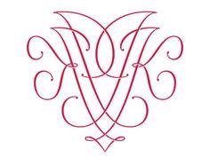 Type and Lettering: JK Monogram by Ken Barber