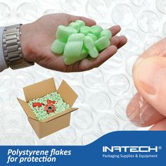 Polystyrene flakes for protection  https://www.inatech-shop.ro/ambalaje-materiale-izolatii/ambalaje-pentru-protectie/fulgi-din-polistiren-pentru-protectie/