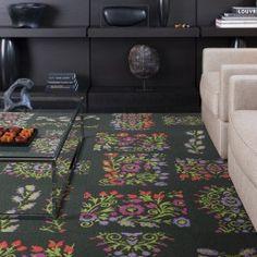 DIY Area Rugs with Carpet Tile | Decor Girl