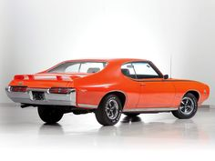 1969 Pontiac GTO Judge Hardtop Coupe muscle classic m