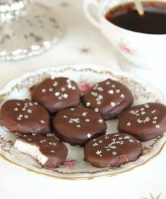 Mintkakor Munnar, Pudding, Sweets, Vegan, Desserts, Food, Tailgate Desserts, Deserts, Goodies