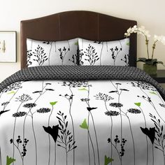 Found it at AllModern - Asian Lily Reversible Comforter Set