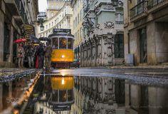 Rains in the city - Portugal - Lisbon - © Filipe Correia photography