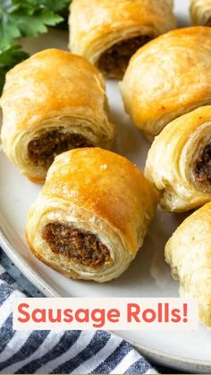 Finger Food Appetizers, Finger Foods, Appetizer Recipes, Easter Appetizers, Snack Recipes, Puff Pastry Recipes, Sausage Rolls Puff Pastry, Puff Pastries, Puff Pastry Appetizers