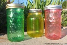 Creative ways to use inexpensive mason jars as centerpieces for your party or wedding reception.