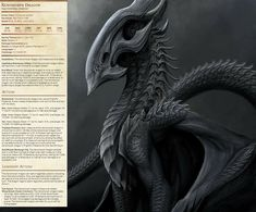 Dungeons And Dragons Homebrew, D&d Dungeons And Dragons, Alien Creatures, Fantasy Creatures, Dnd Stats, Dnd Classes, Adventure World, Dnd 5e Homebrew, Dnd Monsters
