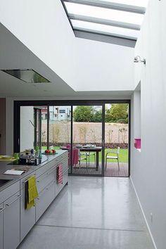 4. Une maison contemporaine à ossature bois : la cuisine