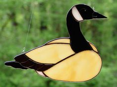 Heading South Canadian Goose by theglassmenagerie on Etsy, $16.00