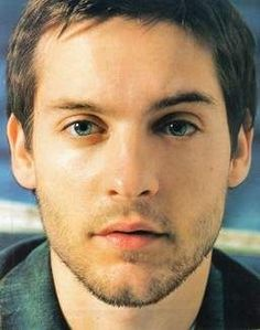 Tobey Maguire -- I thought he was pretty cute before Spider Man 3 happened.