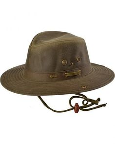 cc71148b Outback Trading Co. Oilskin River Guide Hat #tradingguide Leather Hats,  Trading Strategies,