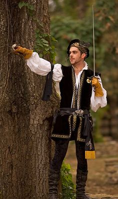 English Lord by atistatplay on DeviantArt Renaissance Costume, Medieval Costume, Renaissance Fashion, Medieval Gown, Historical Costume, Historical Clothing, Tudor, Mens Garb, Mardi Gras Costumes