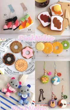Cute Felt Mascot n3064 Japanese Craft Book by PinkNelie on Etsy