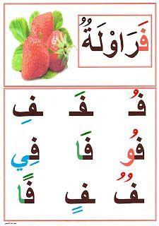 معلقات تزيين القسم صور الحروف الابجدية العربية للطور الاول ابتدائي Arabic Alphabet For Kids Learn Arabic Alphabet Arabic Alphabet