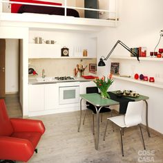 cucina piccola come arredarla | lofts | Pinterest | Tes, Fai da te ...