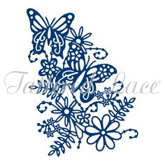 Tattered Lace - Dies - Blossoming Butterfly