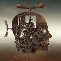 Steampunk Artwork. #steampunk #steampunkart #artwork http://www.pinterest.com/TheHitman14/artwork-steampunked/