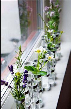 tse tse vases with lavender & strawberry