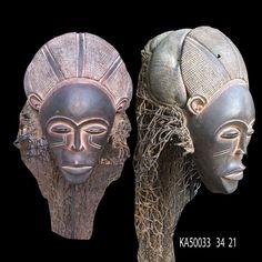 Tchokwe MASK ART AFRICAIN ART AFRICAIN ARTE AFRICANO AFRICANISCHE KUNST *