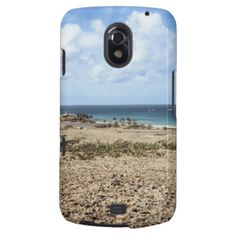 Aruba Rocky Ocean View Samsung Galaxy Nexus Cover    •   This design is available on t-shirts, hats, mugs, buttons, key chains and much more    •   Please check out our others designs and products at www.zazzle.com/zzl_322881145212327*