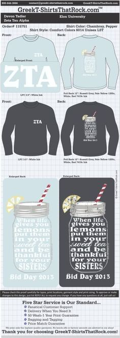 Zeta Tau Alpha T-Shirts That Rock 115751proof  Just email this proof to us and we'll customize it for your chapter.