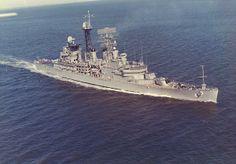 From Glenn Krochmal, USS 'Little Rock' - his first real warship