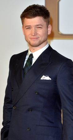 Taron Egerton photos, including production stills, premiere photos and other event photos, publicity photos, behind-the-scenes, and more.