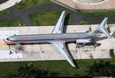 American Airlines McDonnell Douglas MD-82 N292AA is seen here enjoying its retirement in the Puerto Rican sun as a museum piece just outside of San Juan, February 2015. (Photo: Carlos Aleman)