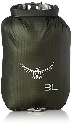 Osprey UltraLight 3 Dry Sack, Shadow Grey, One Size ** CHECK OUT MORE DETAILS  @: http://www.best-outdoorgear.com/osprey-ultralight-3-dry-sack-shadow-grey-one-size/
