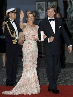 Maxima d'Olanda e Willem-Alexander, i reali arrivano in Italia