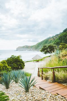 Stroll down to our private beach at Mukul Resort Nicaragua