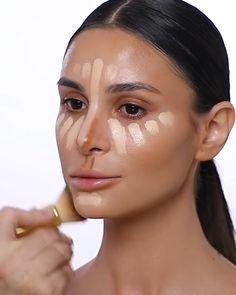 Eye Makeup Steps, Smokey Eye Makeup, Makeup Tips, Beauty Makeup, Contour Makeup, Skin Makeup, Makeup Brushes, Maquillage Normal, Makeup For Black Skin