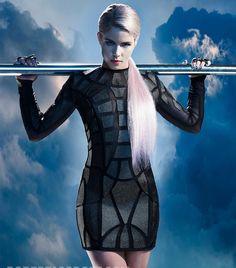 #Arrow    Emily Bett Rickards(Felicity)