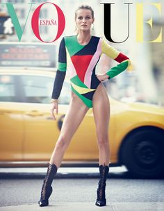 #EditaVilkeviciute by #AlexiLubomirski for the cover of #VogueSpain November 2014