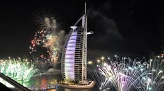 New Years Eve Fireworks in Dubai