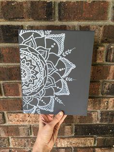 Mandala- mandala canvas- Christmas gift- cute home decor- room- boho chic- bohemian- mandala https://www.etsy.com/listing/460812496/wall-decor-mandala-canvas-boho-canvas