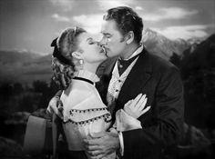 .Ann Sheridan and Errol Flynn